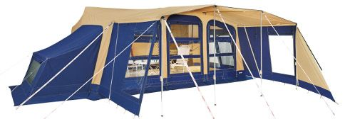 Trigano Olympe Trailer Tent is an Extremely Quick Trailer Tent to Erect