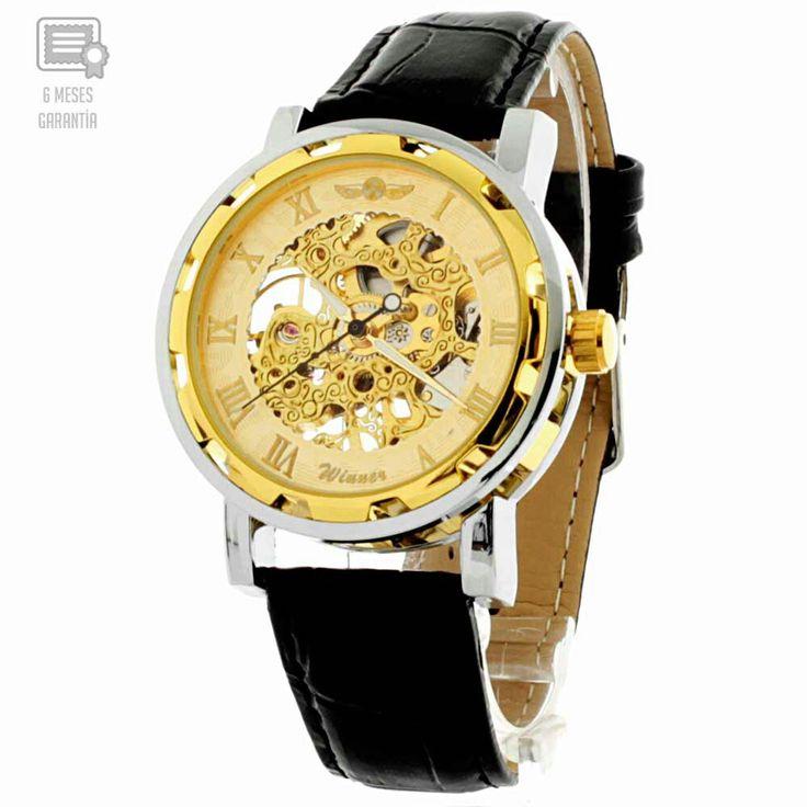 Reloj mecanico para caballero 🙌