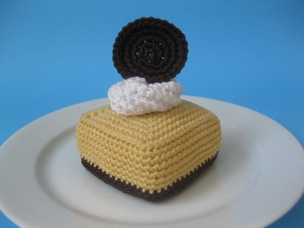 Crocheted Cheesecake Square - FREE Crochet Pattern by Norma Lynn * New web site!! *