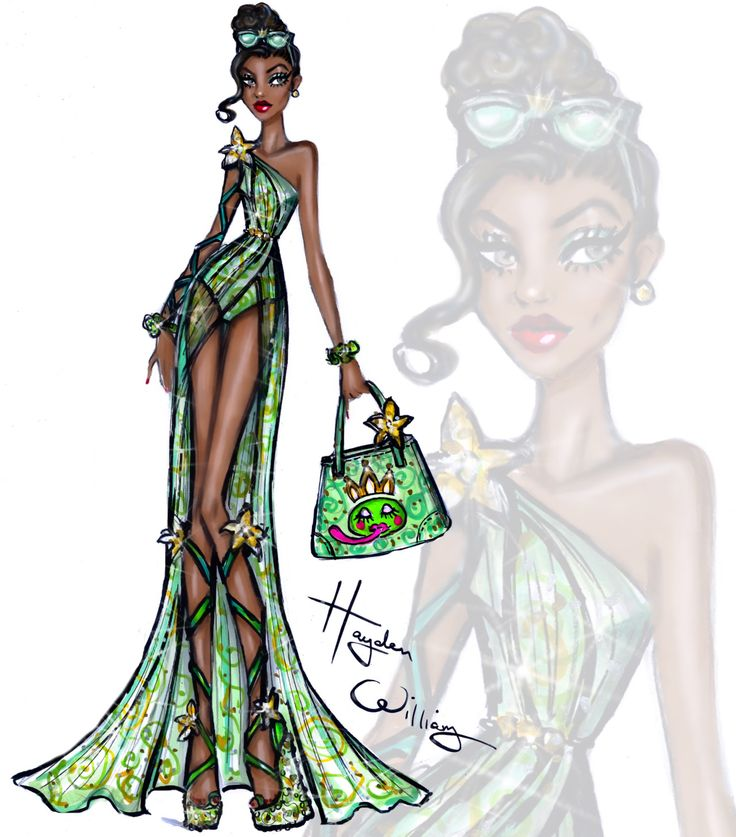 Disney Divas 'Beach Beauties' by Hayden Williams: Tiana: