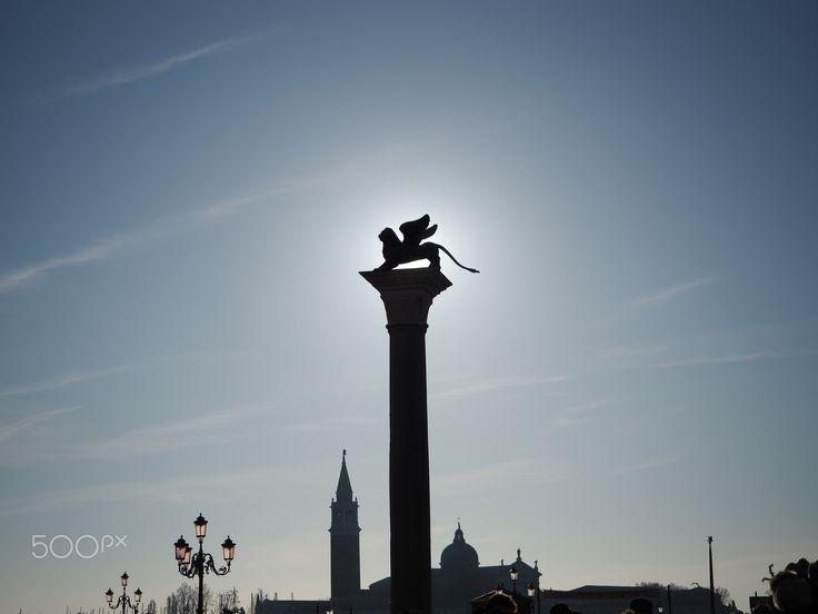 Venice - venezia, winged lion San Marco