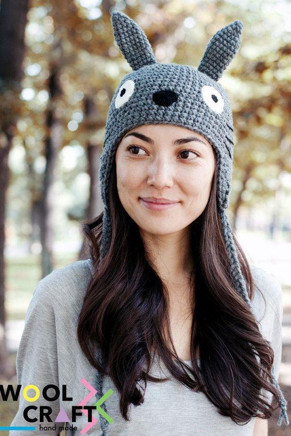 This precious hand knitted hat that'll basically turn you into a forest spirit.