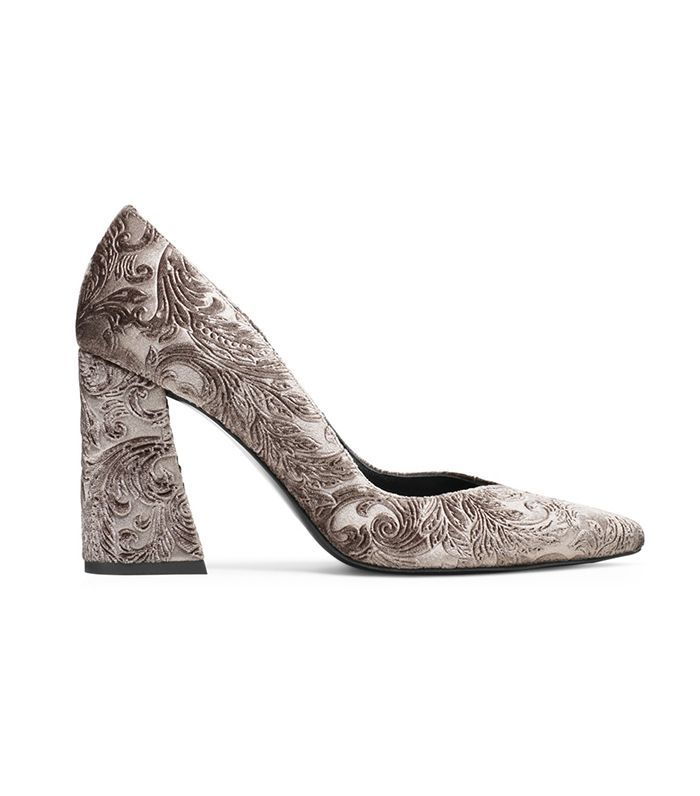 The Prettiest Comfortable High Heels for Fall, All in One Place via @WhoWhatWear