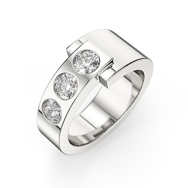 Populaire Les 25 meilleures idées de la catégorie Bague diamant moderne sur  GU37