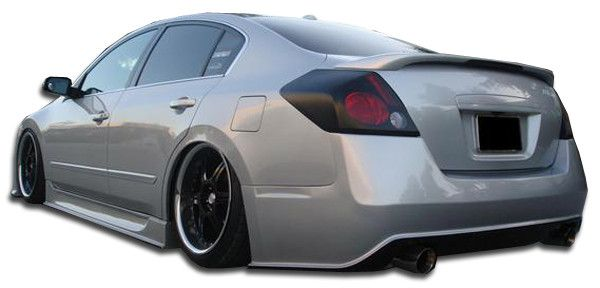 2007-2012 Nissan Altima 4DR Duraflex Sigma Rear Bumper Cover - 1 Piece