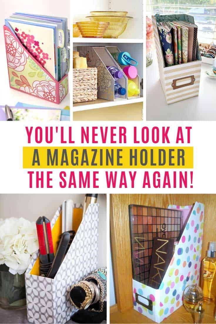 These Hacks Will Change The Way You Look At Magazine Holders Magazine Holders Magazine File Holders Diy Magazine Holder