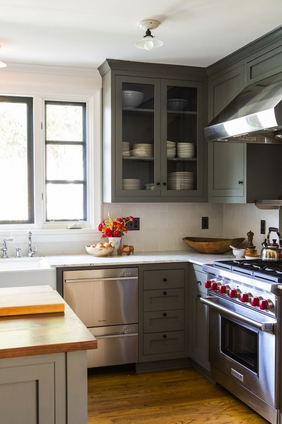 DIY on Pinterest  Front doors, Paint colors and Olive green kitchen