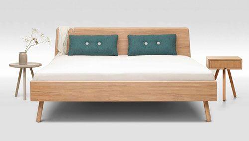 scandinavian bedRetro To Go Trecompany Scandinavianstyle bed