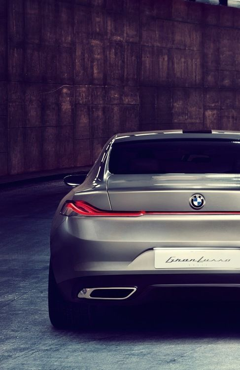 BMW Gran Lusso Coupe by Pininfarina. #bmw #cars #tyres