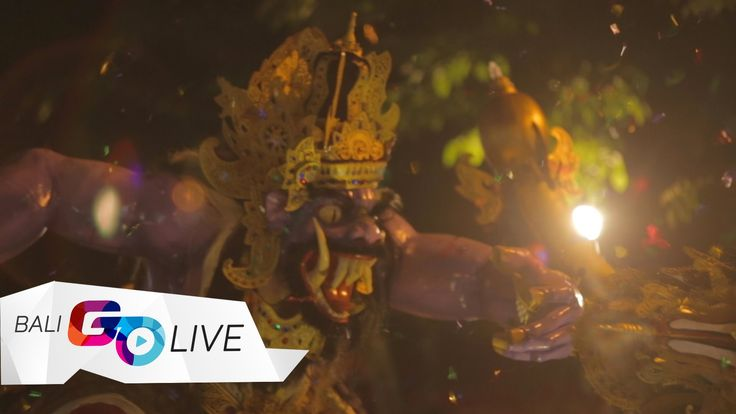Ogoh-ogoh is one iconic statue that paraded around the town in Ngrupuk night, a day before Nyepi day. This cultural attraction should be on your holiday list while you're in Bali. Click the video for more!