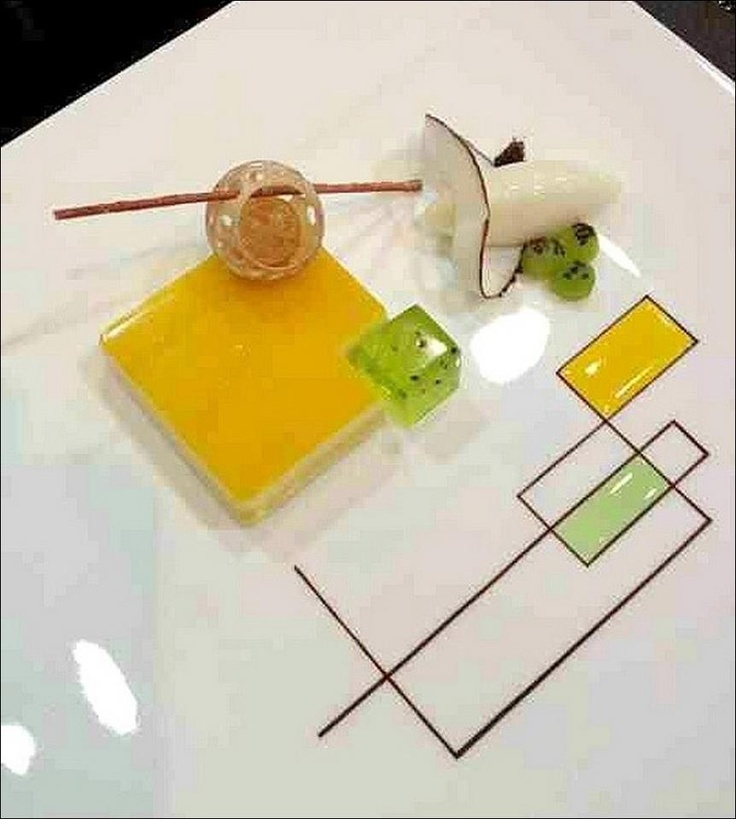 De l'art à l'assiette, il n'y a qu'un coup de fourchette !... ;) (De l'académie allemande d'hôtellerie et service)… Les 3 premiers qui partagent la photo gagnent 1 point !!! ;) . L'art de dresser une assiette comme un chef... http://www.facebook.com/VisionsGourmandes