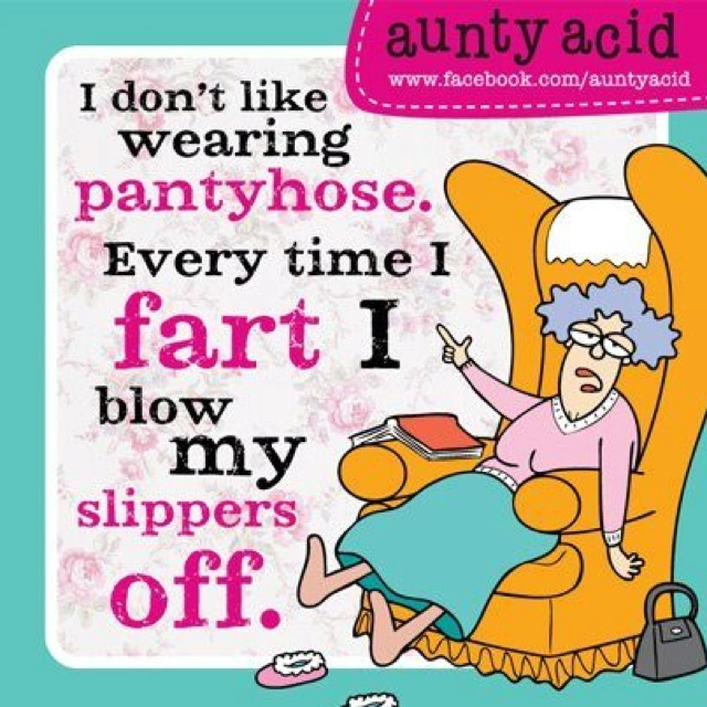Aunty Acid laughs