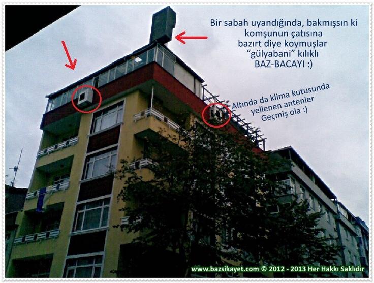 Avcılar Pınar Sokak'ta Baca Felaketi