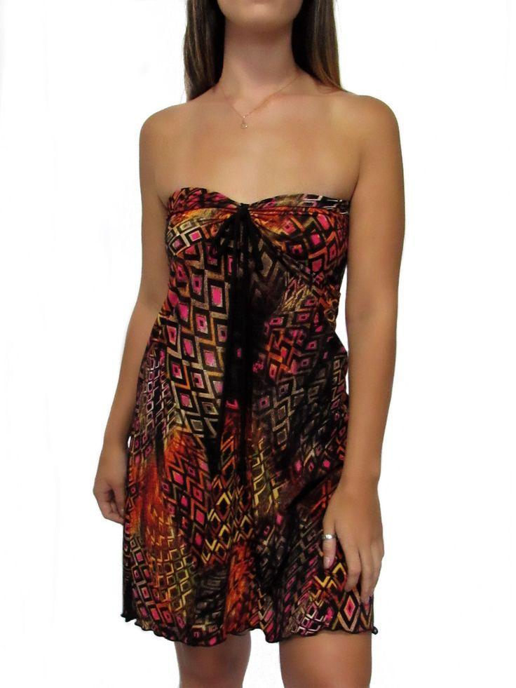 Diamond Canvas Maui Tube Dress Skirt