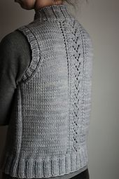 Pattern has been updated Nov 2015 to include back lace panel chart