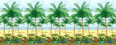 Palmbomen wand decoratie rol 12m. Hawaii of tropisch feestje? Bij Fun en Feest vind je de leukste Hawaii feestartikelen, versiering en decoratie.