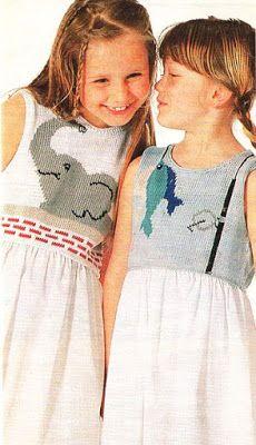 Kreatívny Magazín: Letné šaty pre dievčatká