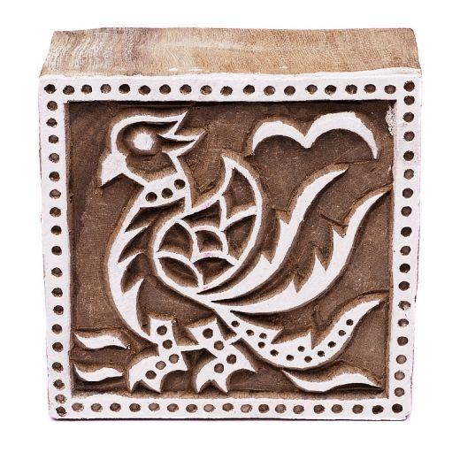 Stamp for batik - bird