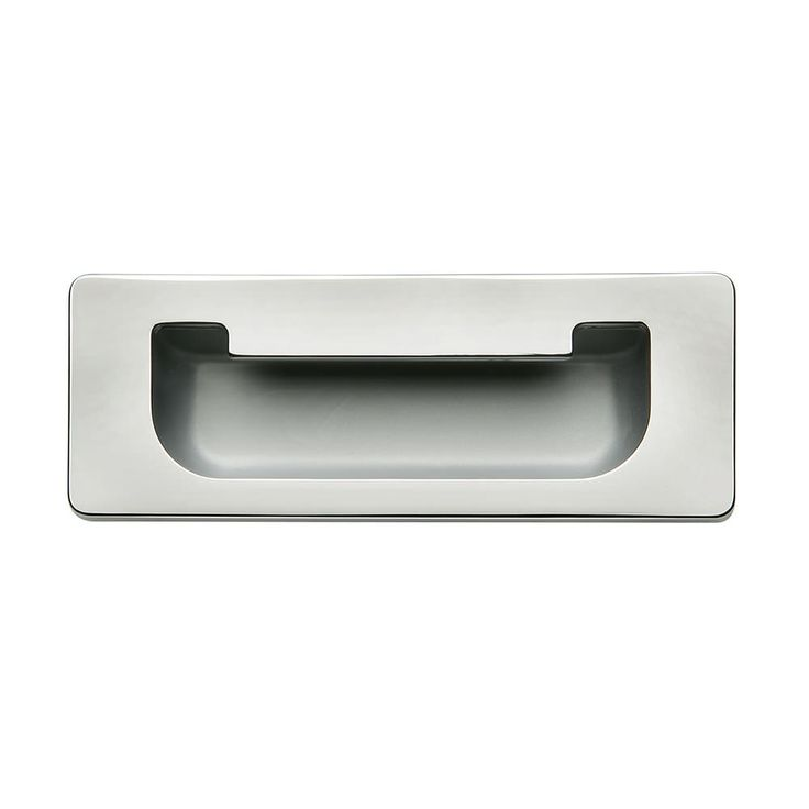 111 x 41mm inset flush handle polished chrome u0026 aluminium door pull handles cabinet