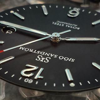 Sjöö Sandström Royal Steel Classic 41mm.  #sjöösandström #watch