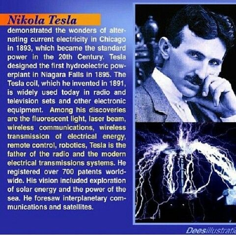 tesla the father of modern Even our premier museum, the smithsonian institution, hails mr edison as the founding father of our electrical power system, and recognizes tesla only as the.