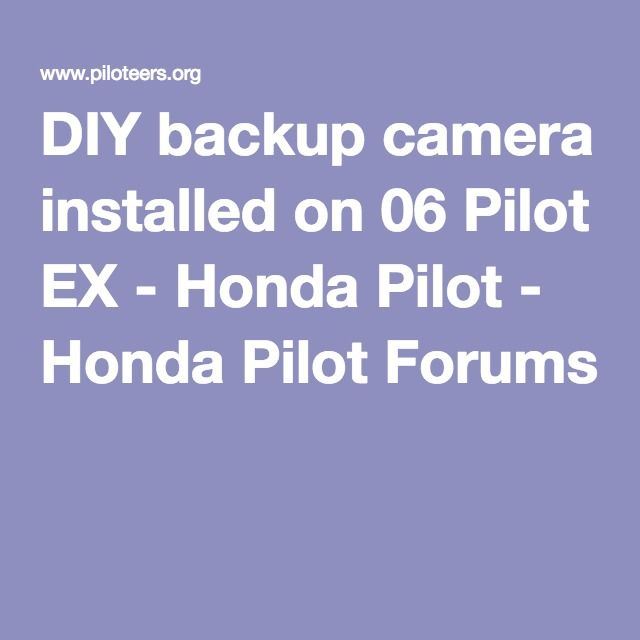 Best 25+ Backup camera installation ideas on Pinterest | Rv backup ...