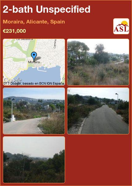 2-bath Unspecified in Moraira, Alicante, Spain ►€231,000 #PropertyForSaleInSpain