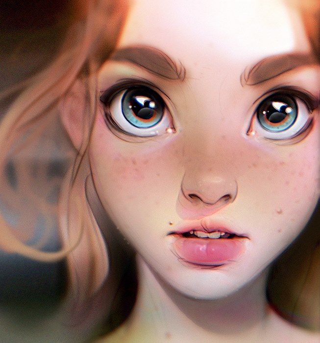 Irakli Nadar - Stylised painting from imagination. I reached...