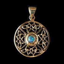 * Hand-Finished and Polished * Free Shipping * Guaranteed for Life * Weight: 8 grams * Dimensions of Pendant: 32mm W x 32mm H  Product Code: P-030B  Sold without a chain.  Like all of our products this pendant is guaranteed for life.