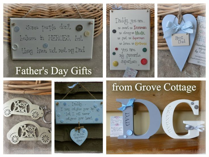 Father's Day gift ideas www.grovecottagesigns.co.uk #handmade #grovecottage # hernebay #fathersday #dad #gifts