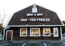 "Par-Tee Freeze  Best soft serve ice cream around!  Love my ""Par-Tee Freeze Fridays!"""
