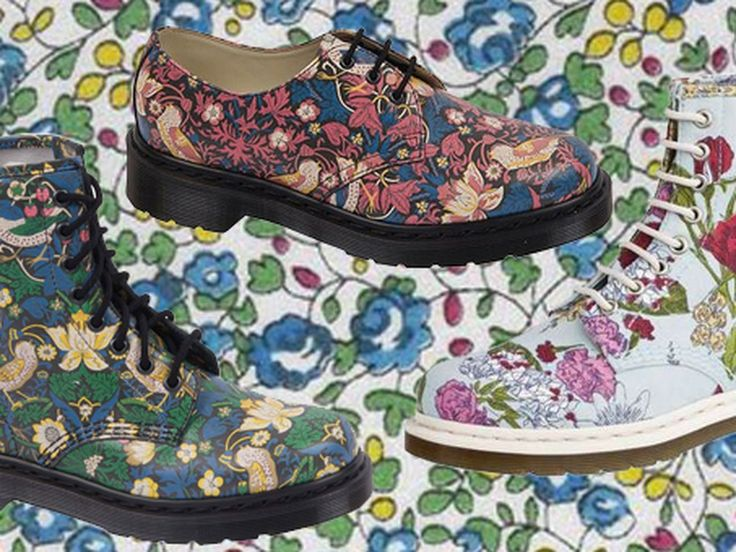 Dr Martens x Liberty of London Launches Tomorrow - Racked Chicago