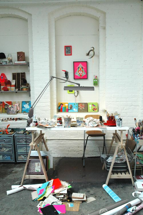 lisa congdon on share some candy Vika desk, Franklin bar stool and Andy drawer unit