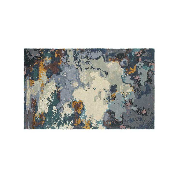 Oriental Weavers Galaxy Panacea Abstract Wool Blend Rug, Blue