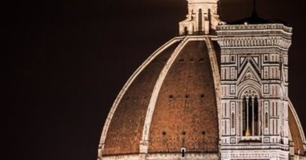 The cross atop the dome of the Cathedral of Florence aligns perfectly with the moon... dream or reality? | Art Cities | Pinterest | Beautiful, Florence and The…