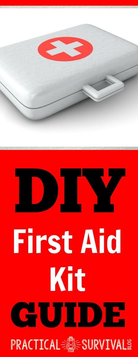 DIY Survival First Aid Kit Guide.  There is some great info here about what to include in your first aid kit