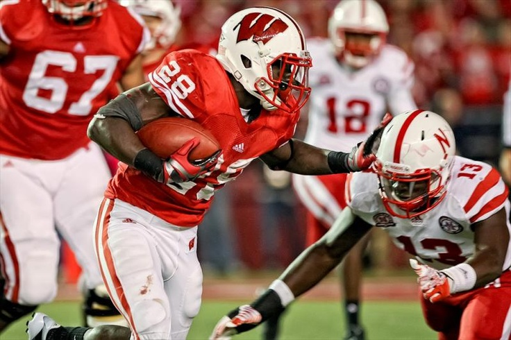 Montee Ball and lets go Badgers