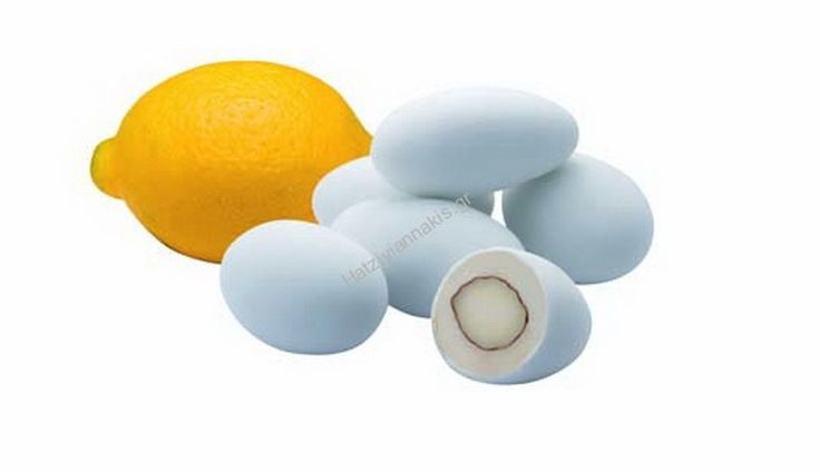 Απίστευτο κουφέτο με αμύγδαλο και δροσερή γεύση λεμονιού! #ElDeco #Lemondragees
