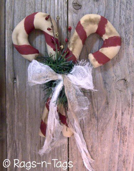;: Christmas Prim, Christmas Crafts, Canes Epattern, Christmas Thyme, Christmas Decoration, Candy Canes, Christmas Wint, Primitives Christmas, Canes Ti
