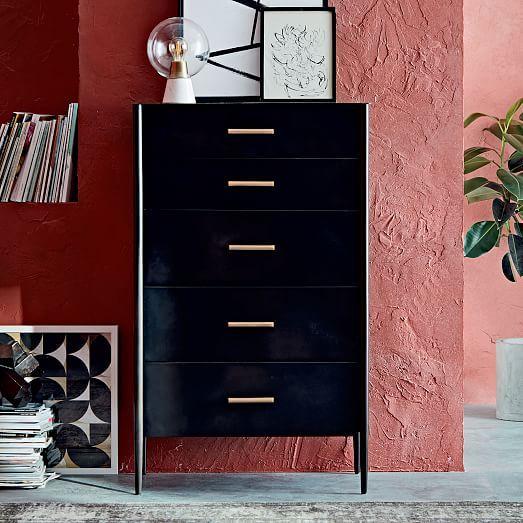 Metalwork 5-Drawer Dresser - Hot-Rolled Steel Finish #westelm