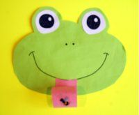 Invitations, wording, all sorts of froggy party stuff