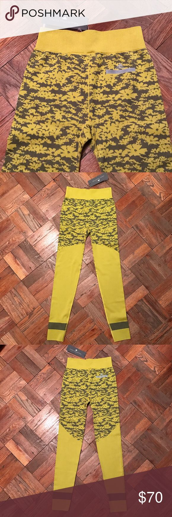 Adidas by Stella McCartney leggings, size S Super cute and fun floral print leggings from Stella Maccartney for adidas. Size S, new with tags! Colors as pictured. Adidas by Stella McCartney Pants Leggings