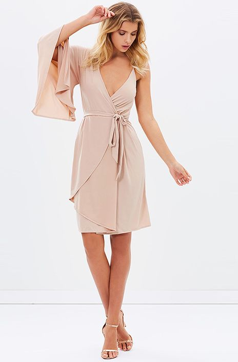 GARDEN PARTY DRESS - Dusty Pink - Siss & Co.