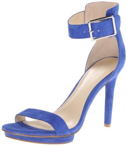 Calvin Klein Women's Vivian Suede Platform Sandal