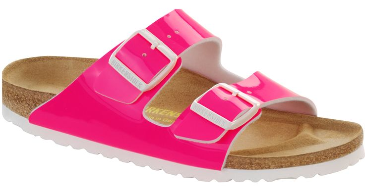 Birkenstock ARIZONA - Pool sliders - neon pink RGa7TB
