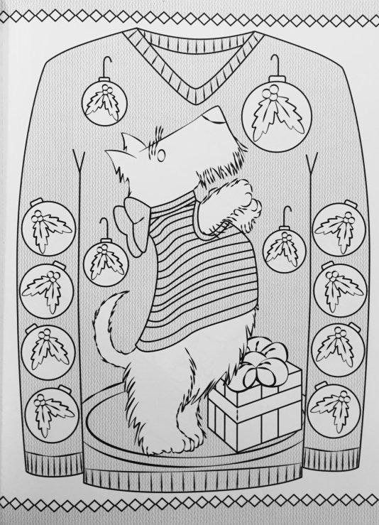 Creative Haven Ugly Holiday Sweaters Coloring Book Books Ellen Christiansen