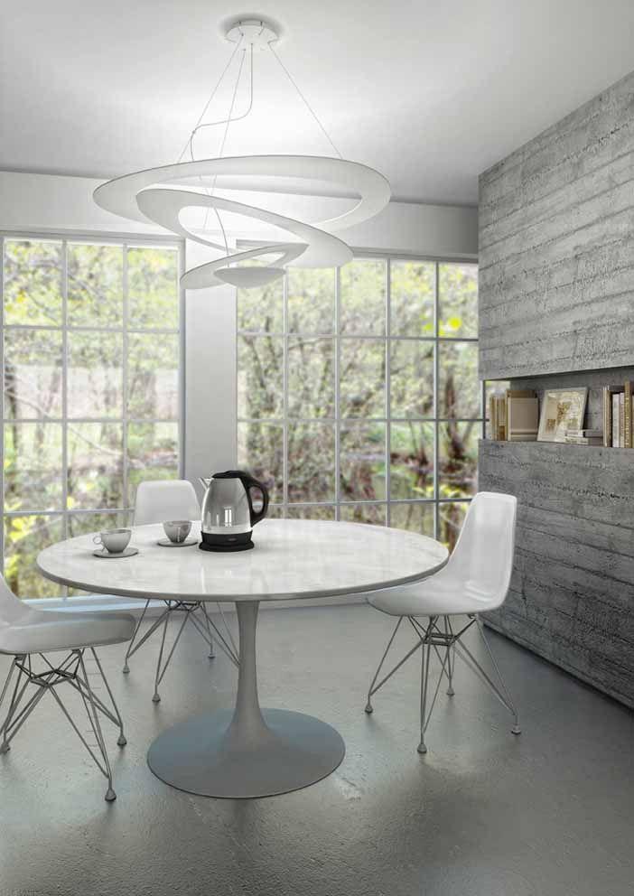 #Pirce suspension above this table. #design Giuseppe Maurizio Scutellà