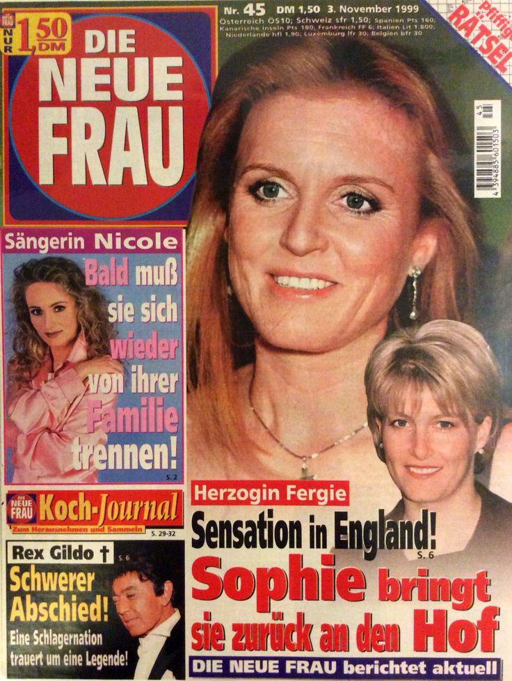 Die neue frau n. 45 - Sarah Duchess of York