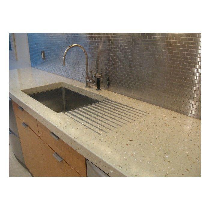 16 best kitchen designs images on pinterest | kitchen designs ... - Terrazzo Kitchen Sinks