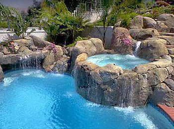 Dream Swimming Pool And Jacuzzi